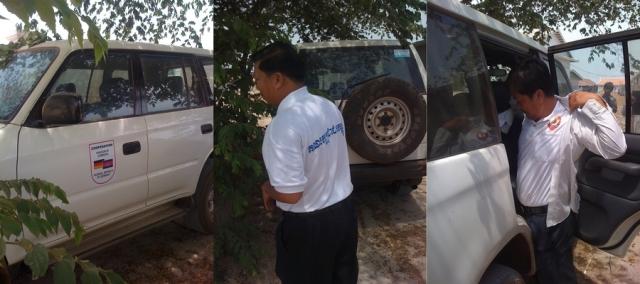 Wahlkampf in Prey Veng
