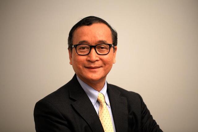 Oppositionsführer Sam Rainsy wird nach seiner  Begnadigung am Freitag nach Kambodscha zurückkehren. Foto: CNRP