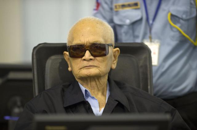 Schuldig: Nuon Chea. (Foto: ECCC)