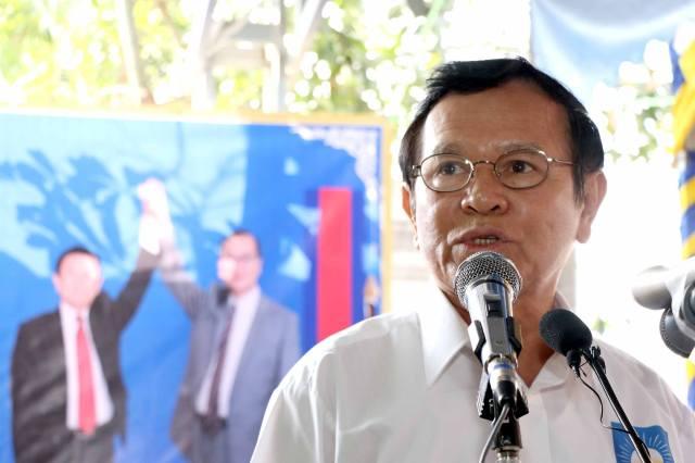 Kem Sokha ist am 2. März zum neuen Präsidenten der oppositionellen CNRP gewählt worden. (Foto: CNRP)